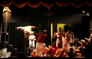 Malayalam play Mathi won four awards at the 10th  Mahindra Excellence in Theatre Awards 2015