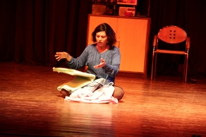Domestic distress: Shilpa Shukla plays the troubled homemaker in the black-comedy
